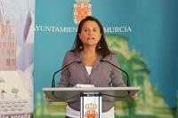 María Dolores Sánchez Alarcón, Concejal de Educación y Juventud del Ayuntamiento de Murcia